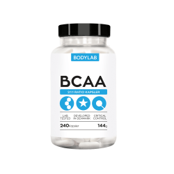 Bodylab BCAA kapsler (240 stk)